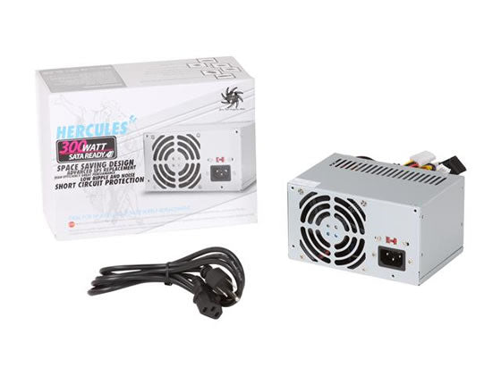 Athena Power AP-MPS3ATX30 Hercules 300W Micro PS3/ATX12V Power Supply