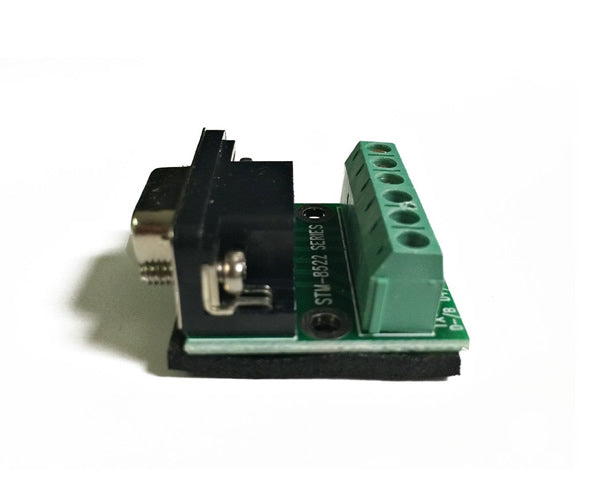 RS-232 (DB-9 Pin) Female to RS-485 RS-422 Serial Adapter Converter