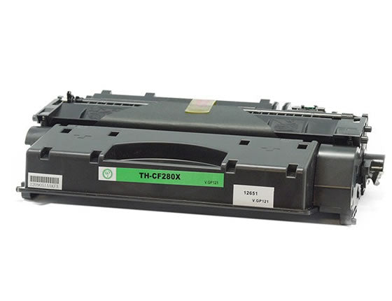 CF280X (80X) MICR Compatible Toner 6900 Yield for HP Pro 400 M401/M425 Printer
