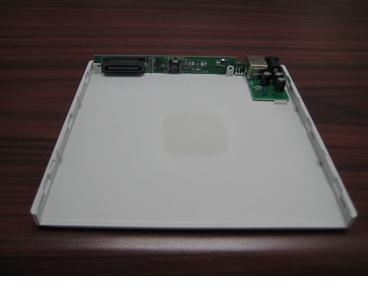 EX-BLK-WT Apple White USB 2.0 Slimline Optical Drive Enclosure