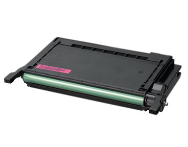 CLP-M600A Toner Cartridge Compatible 4000 Page Yield Magenta for Samsung CLP-600/CLP-650N
