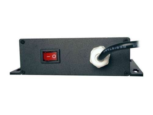 LTS DV-AT1207M-D09 9-Port PTC Protected Wall Mount Power Supply 12V DC 7Amp