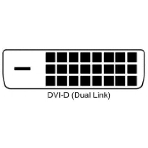 DVI-D Dual Link 24+1 Digital Video Male to Female Extension Cable w/Ferrites 28AWG (3Ft, 6Ft, 10Ft, 15Ft)