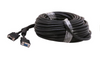 50Ft (50 Feet) SVGA Male to Female Monitor Extension Cable Dual Ferrites