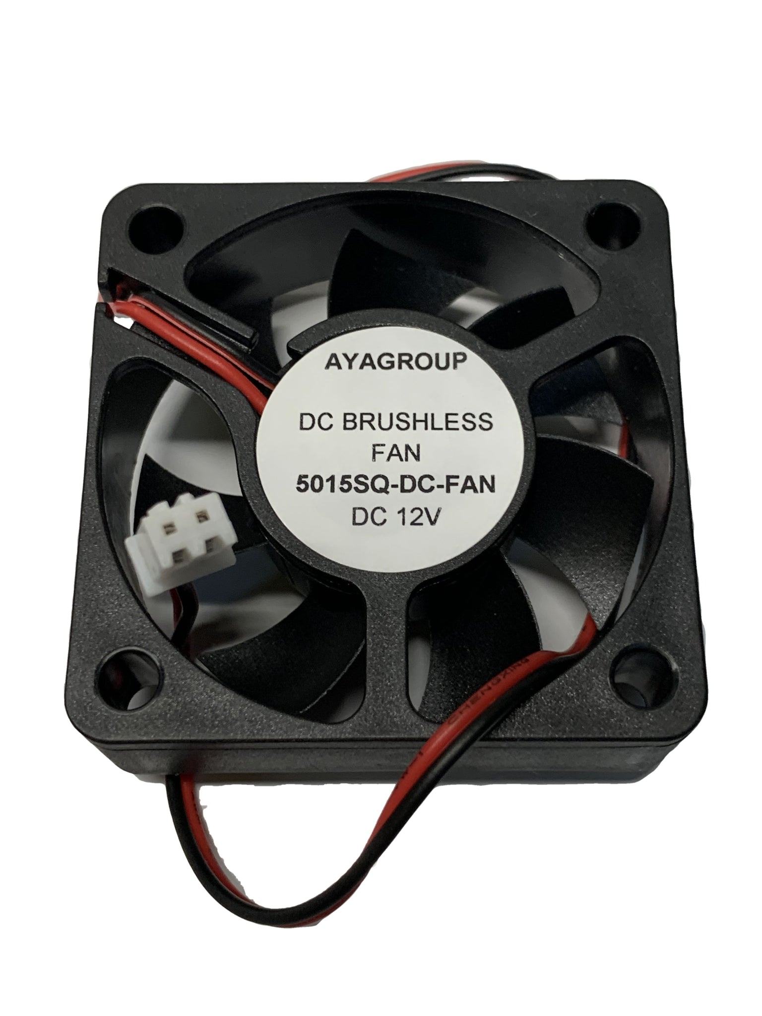 50x50x15mm 5015 12V 5000RPM Cooling Small Exhaust Fan with 2-Pin Connector
