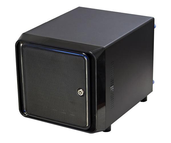 Norco ITX-S4 Black Mini-ITX Form Computer Storage Case