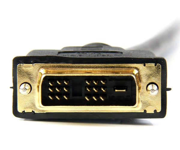HDMI Male to DVI-D Male 28AWG Cable w/Ethernet & Gold Connectors (3Ft, 6Ft, 10Ft, 15Ft, 25Ft, 33Ft, 50Ft)
