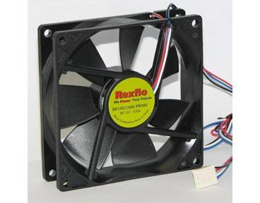 Rexflo DF129225BH-PWMG 92x92x25mm Silent Fan w/PWM Function