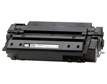 HP (51X) Q7551X MICR Compatible 13000 Page Yield Black Toner