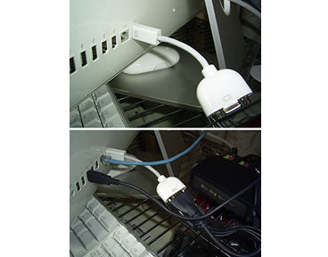 Mini-DVI Male to VGA Adapter for iMac, MacBook, PowerBook G