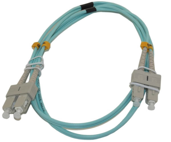 SC/SC 10G Multi-Mode Duplex OM3 50/125 Fiber Optic Networking Cable