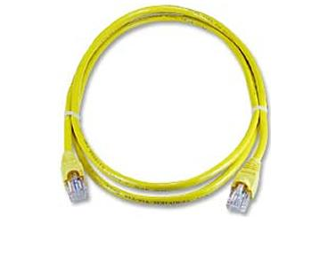 C5MB-3YEL 3Ft. Cat5e 350MHz RJ-45 Cable Yellow