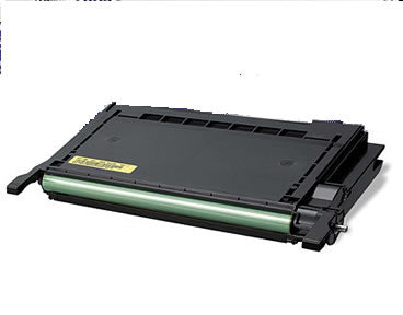 CLP-Y600A Toner Cartridge Compatible 4000 Page Yield Yellow for Samsung CLP-600/CLP-650N