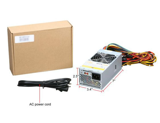 Athena Power AP-MTFX30 300W TFX12V Power Supply for Acer, Dell, HP