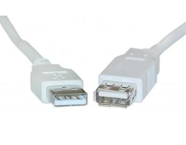 USB2-3MF 3 Ft. USB 2.0 A Male to A Female Extension Cable