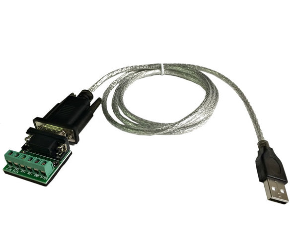 5Ft. USB 2.0 to RS485/RS422 Serial Converter Adapter FTDI Chipset for WinXP/7/8/10