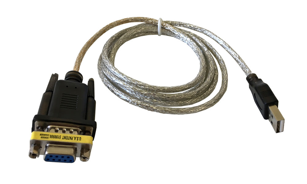 5Ft (5 Feet) USB 2.0 to Serial (9-pin) DB-9 RS-232 with Female Adapter Cable FTDI FT232R
