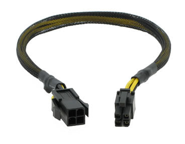 "CB-P4-P4 12"" 4-Pin P4 ATX Extension Cable"