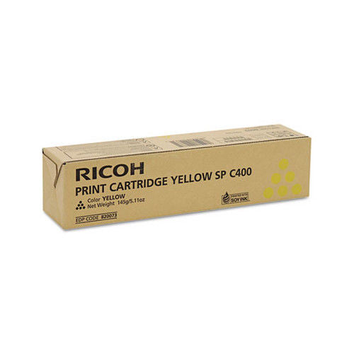 Ricoh 820073 Yellow Toner Cartridge Laser 6000 Page FOR SP C400DN 6K YIELD