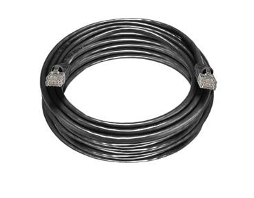C5MB-25BLK 25Ft. Cat5E 350MHz RJ-45 Cable Black