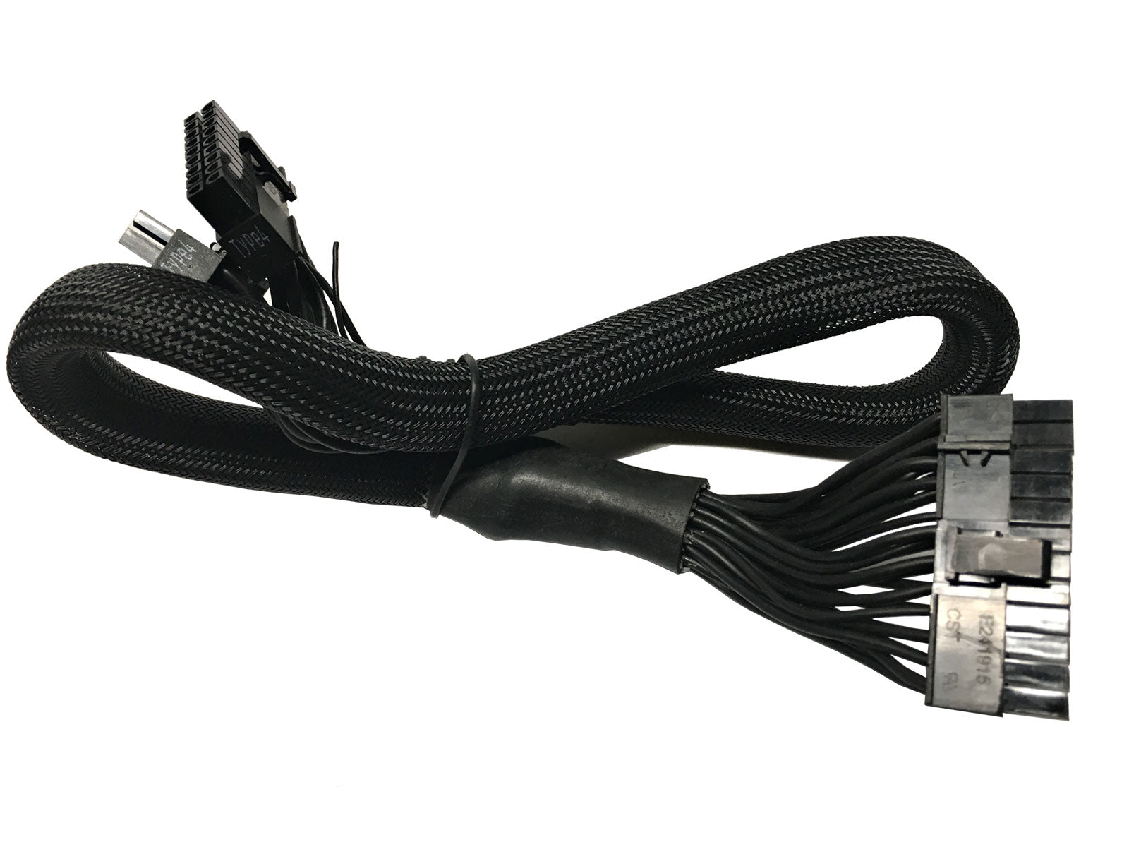 "24"" (24-Inch) ATX 24-Pin to 18-Pin + 10-Pin Extension Modular Power Supply Cable for Coolermaster"