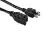 Heavy Duty Power Extension Cord 16AWG 13A, 125V (NEMA 5-15P to NEMA 5-15R) UL Listed/CSA Approved (1Ft - 25Ft)