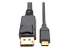 USB-C to Displayport (4K*2K@60Hz) Cable (Thunderbolt Compatible) with Audio