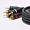 P3V2A-12 12Ft 5-RCA Component Video/Audio Coaxial Cable RG-59/U for HDTV DVD VCR