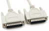 15Ft (15 Feet) IEEE-1284 DB25 M/M (Male to Male) Parallel Serial Cable UL Certified
