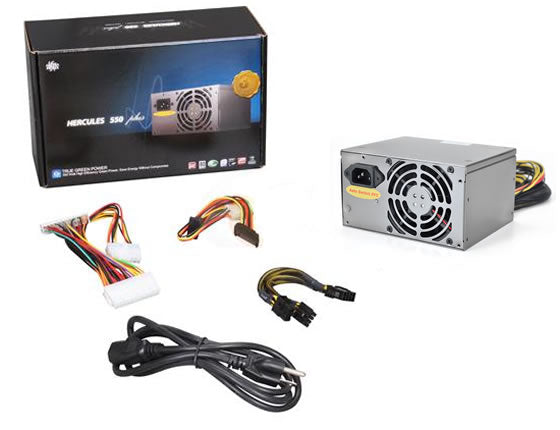 Athena Power AP-MPS3ATX55EP8 550W SLI Ready PS3  EPS-12V Power Supply