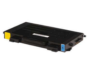 CLP-510D5C Toner Compatible 5000 Page Yield Cyan for Samsung CLP-510