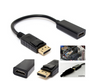 "9"" Displayport (DP) Male to HDMI Female Video Audio Cable Adapter for PC, Notebook, HDTV"