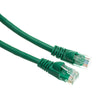 7Ft (7 Feet) CAT6 RJ45 24AWG Gigabit 550MHz Snagless UTP Network Patch Cable GREEN