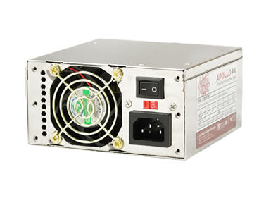 Athena Power AP-MP4ATX40 Apollo 400W ATX12V MicroATX Power Supply