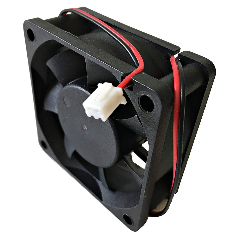 60×60×25mm 12V 60mm 6025S DC Brushless Cooling Exhaust Fan w/2-Pin Connector