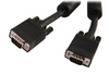 SVGA (HD15) Male/Male Monitor Cable with Dual Ferrites 28AWG