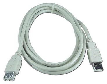 USB2-6MF 6 Ft. USB 2.0 A Male to A Female Cable