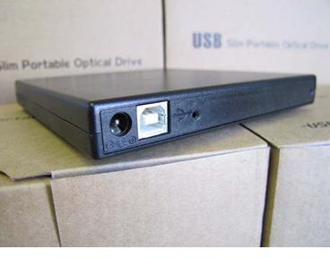 SAEX-BLK-01 USB 2.0 to SATA External Slimline Optical Drive Enclosure