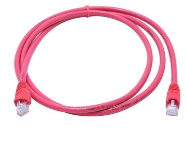 C6M-5RED 5Ft. Cat6 550MHz RJ-45 Cable Red