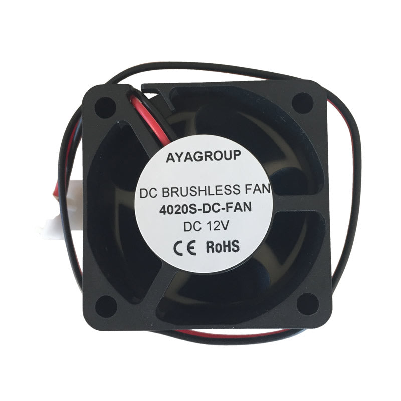 40x40x20mm 5V 2Pin 40mm 4020S DC Brushless Cooling Exhaust Heatsink Fan w/2-Pin Connector