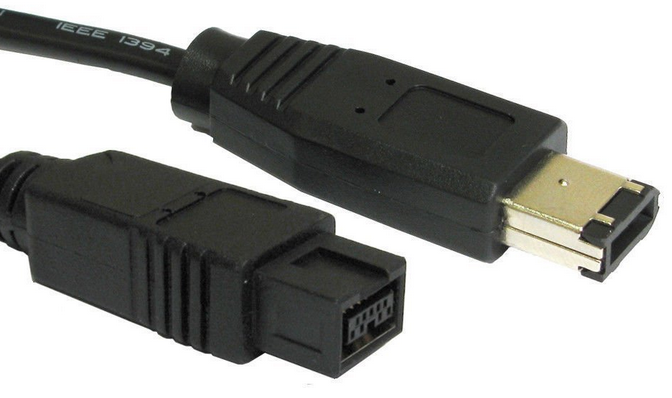 IEEE-1394b FireWire 800 9pin-to-6pin Cable (3Ft, 6Ft, 10Ft, 15Ft)
