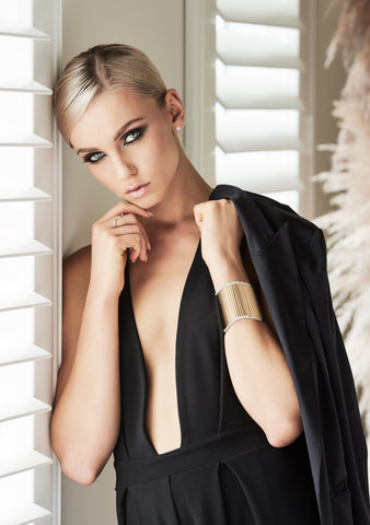 Gold Cuffs for sale in jewellery stores perth