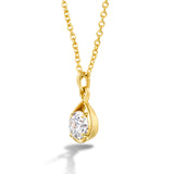 Diamond Pendant in Gold