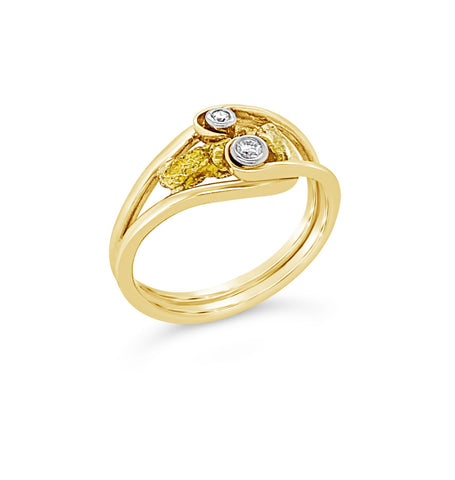 Gold Heritage Diamond Ring