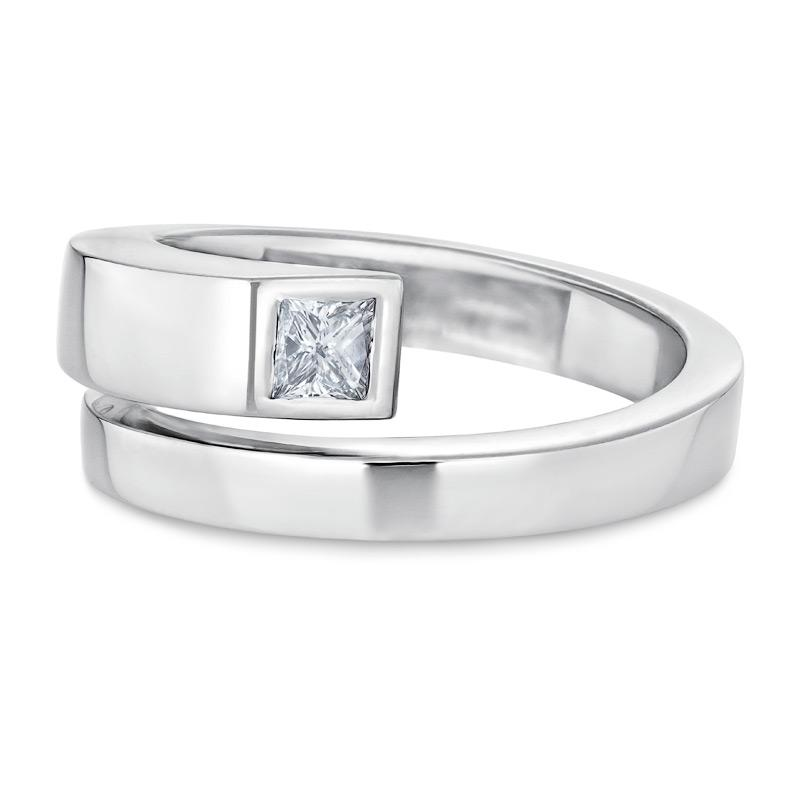 Smales Diamond Wraparound Ring in White Gold
