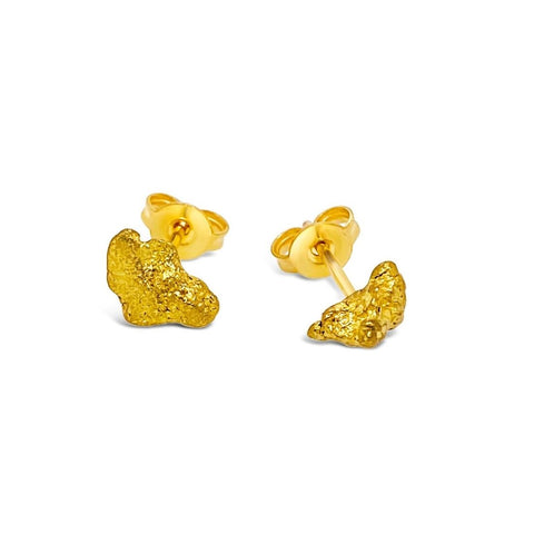 Gold Nugget Studs 1.473 Grams