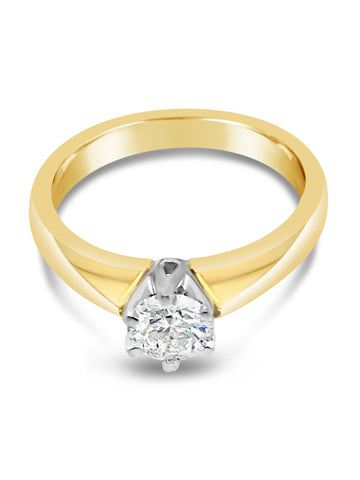 Smales 6 Claw Engagement Ring