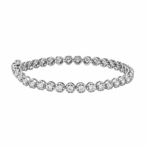 Diamond Bracelet in White Gold Perth Jewellery