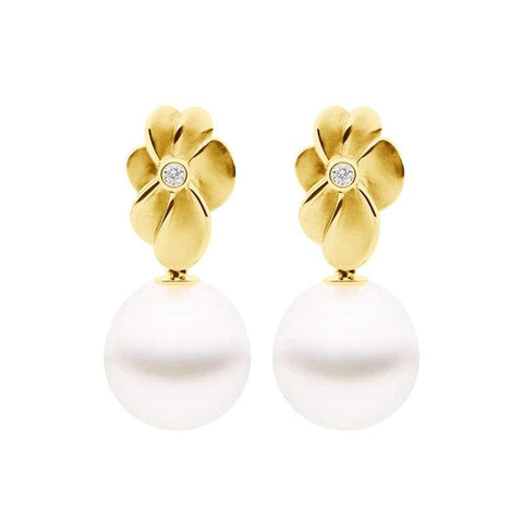Kailis Bloom Pearl and Diamond Earrings