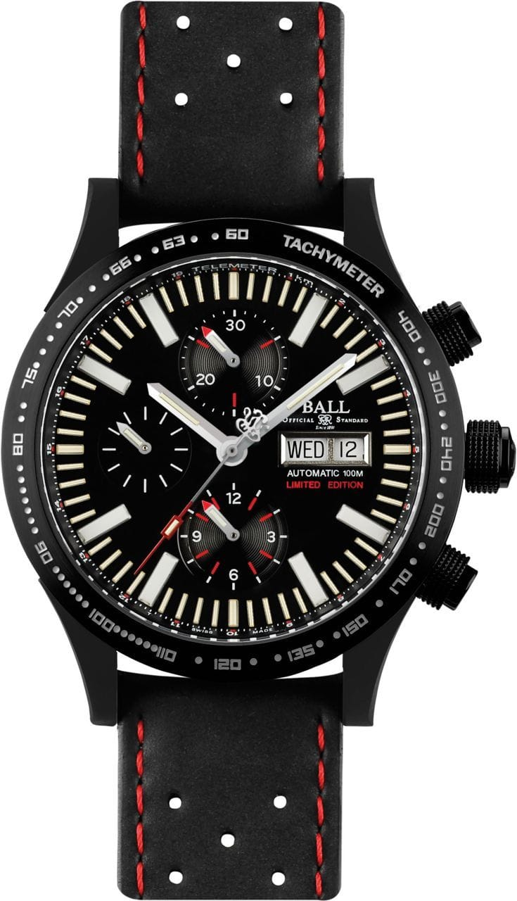 Gents BALL FM Storm Chaser DIC Glow Limited Edition Watch Perth